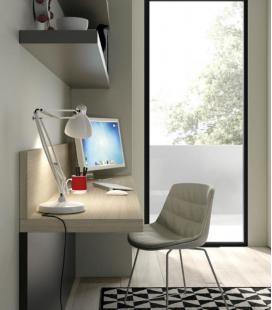 escritorio juvenil colgado
