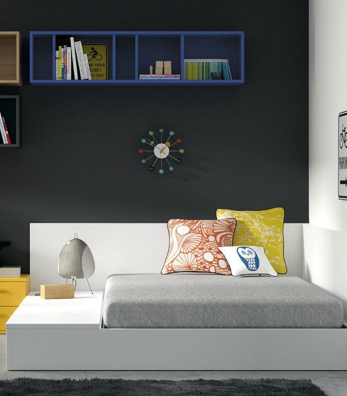 Tatami 3 tapas y somier abatible de jjp for Habitaciones juveniles 3 camas