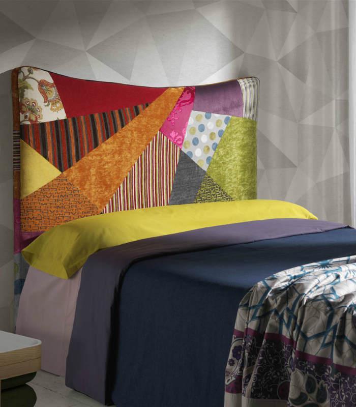 Cabecero cama queen de hersan - Cabeceros de cama tapizados de tela ...