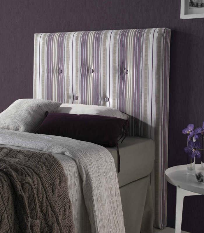 Cabeceros cama tapizados perfect gallery of decoracion - Cabeceros cama tela ...