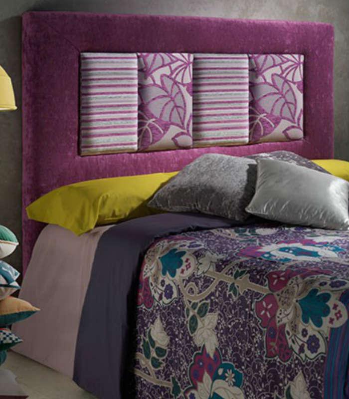 Cabecero tapizado royal de hersan for Cabeceros de cama tapizados