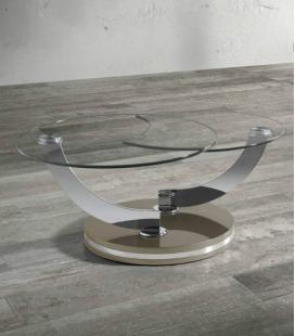 Mesa de centro de cristal de ÁNGEL CERDÁ