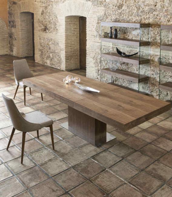 Mesa extensible comedor Wood de Ángel Cerdá