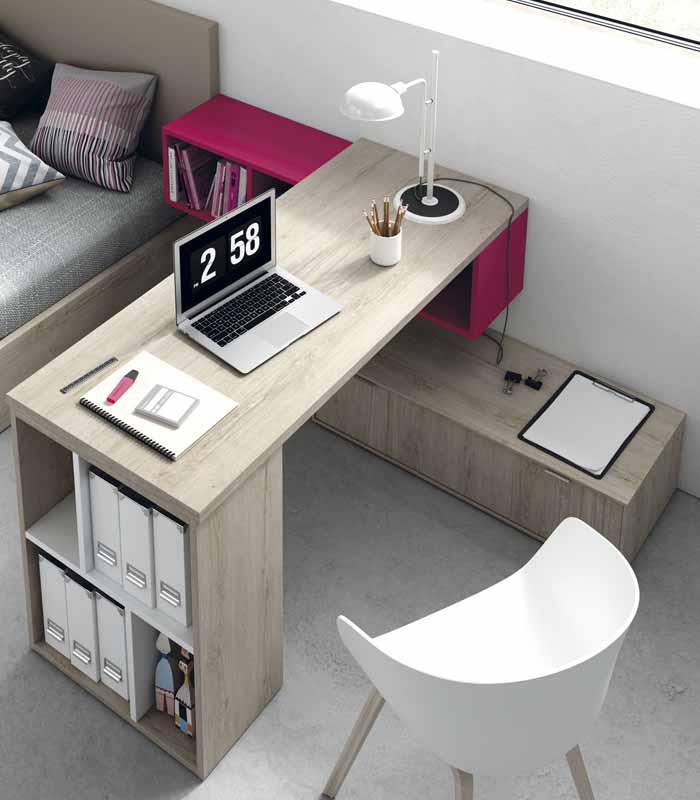 Escitorio juvenil qb berl n de tegar mobel - Muebles de escritorio juveniles ...