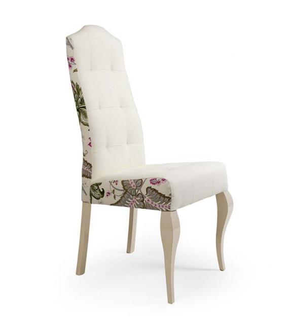 Silla tapizada florencia de j calvo for Tapizados de sillas modernas
