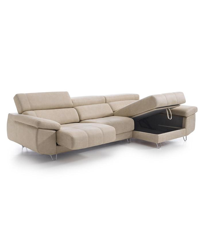 Sofas chaise longue baratos barcelona for Sofas extensibles baratos
