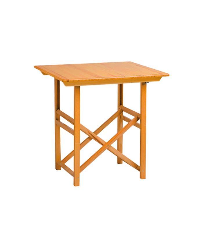 Mesa plegable de exterior modelo t70 de sillas menorca for Mesas de terraza plegables