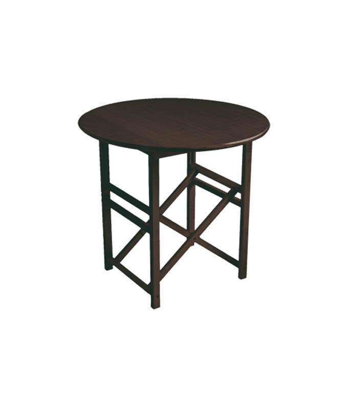 Mesa redonda plegable modelo tr 80 de sillas menorca for Mesa plegable redonda