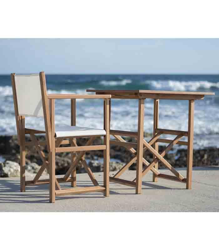 Mesa plegable de exterior modelo t70 de sillas menorca for Mesa exterior terraza