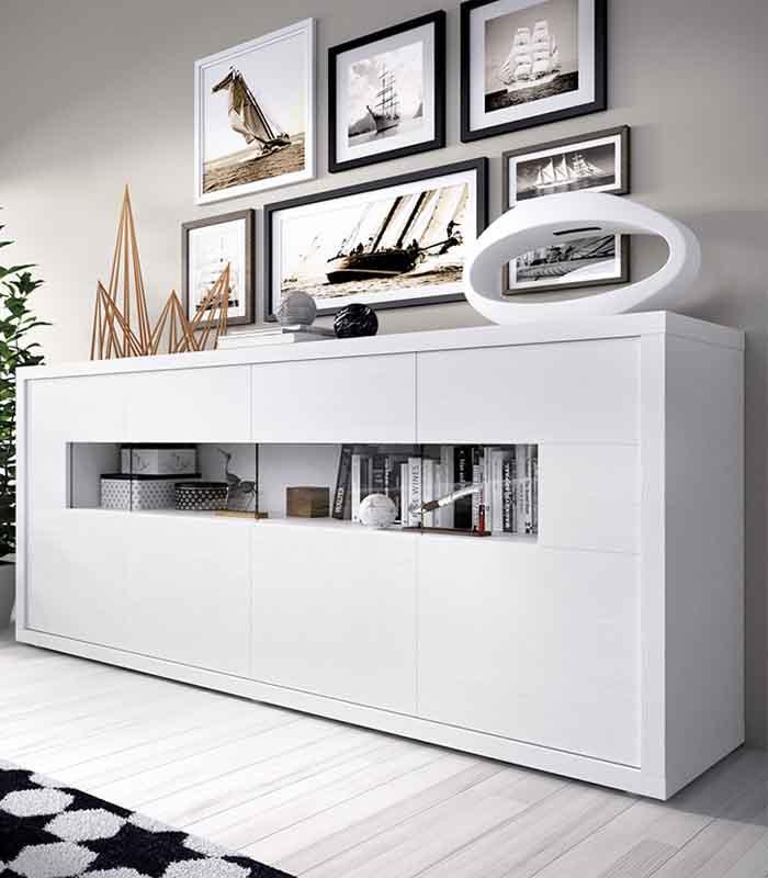 Aparador modelo duo 41 estilo moderno de rimobel - Aparadores salon modernos ...