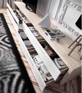 Ambiente de salón modelo DUO 46 estilo moderno