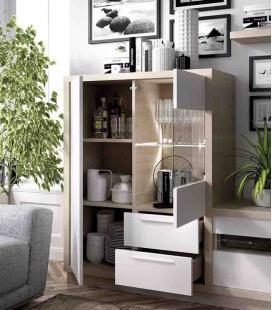 Ambiente de comedor modelo DUO 45 estilo moderno