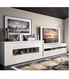 Ambiente de salón modelo DUO 49 estilo moderno
