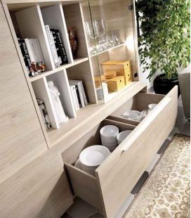 Ambiente de salón modelo DUO 54 estilo moderno