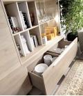 Ambiente de comedor modelo DUO 54 estilo moderno de RIMOBEL