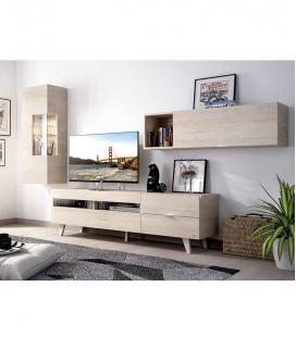 Ambiente de salón modelo DUO 60 estilo moderno