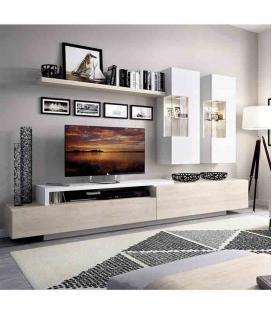 Ambiente de salón modelo DUO 61 estilo moderno