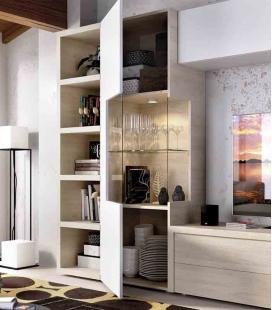Ambiente de salón modelo DUO 63 estilo moderno