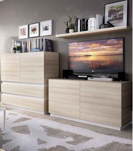 Ambiente de salón modelo DUO 65 estilo moderno de RIMOBEL