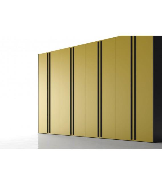 Armario puerta abatible modelo intro serie no limits de jjp - Puertas de armario abatibles ...
