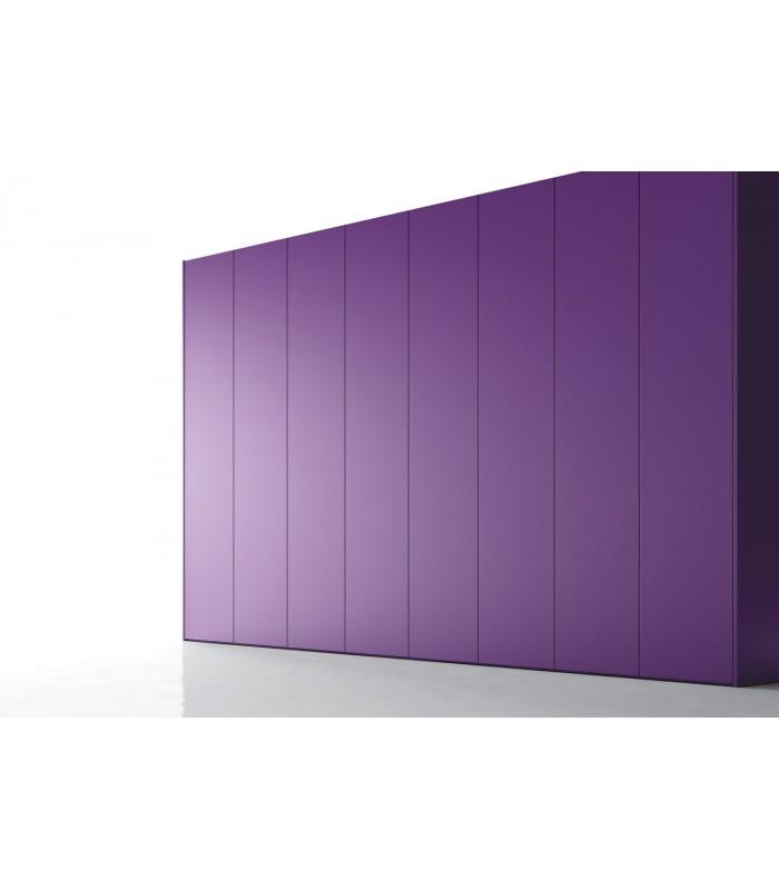 Armario de puerta abatible lisa serie no limits de jjp - Puertas de armario abatibles ...