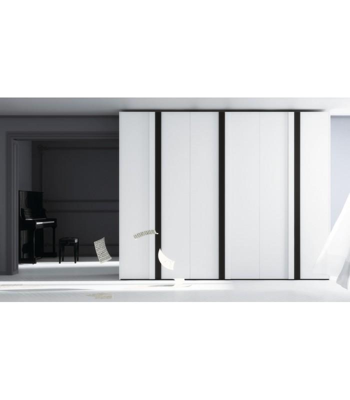 Armario puerta abatible modelo iris serie no limits de jjp - Puertas de armario abatibles ...