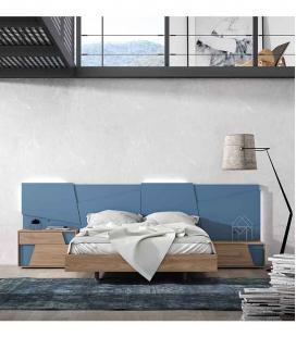 Dormitorio de matrimonio Tetris Mesegue