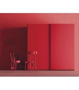 Armario puerta corredera modelo CLEAN, serie NO LIMITS de la firma JJP