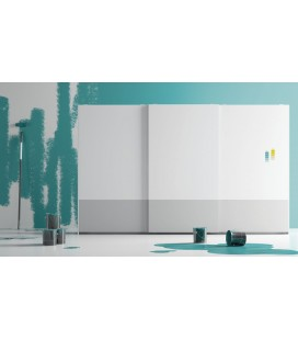 Armario puerta corredera modelo ZEN , serie NO LIMITS de la firma JJP