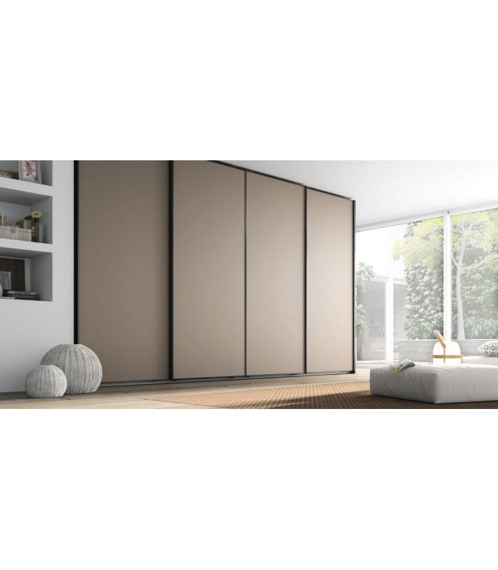 Armario puertas correderas 1 plafon serie no limits de jjp - Como hacer puertas correderas para armario ...