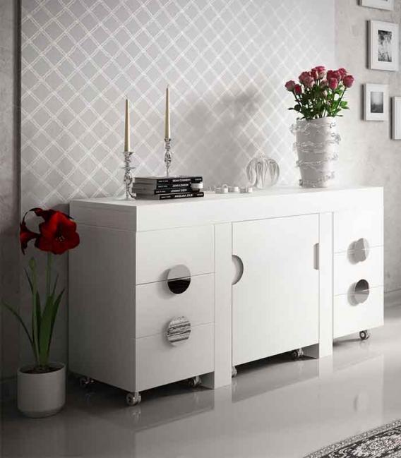 Tocador compacto Franco Furniture