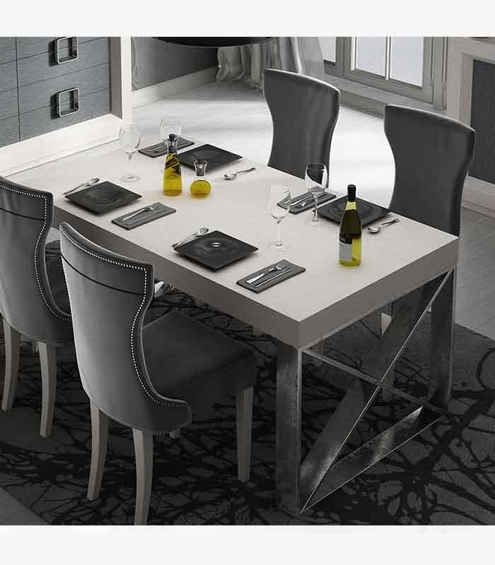 Mesa De Comedor Pata Aspa Franco Furniture