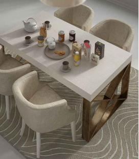 Mesa de comedor pata Aspa