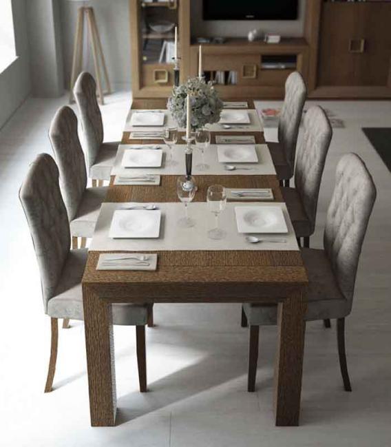 Mesa de comedor pata U Franco Furniture