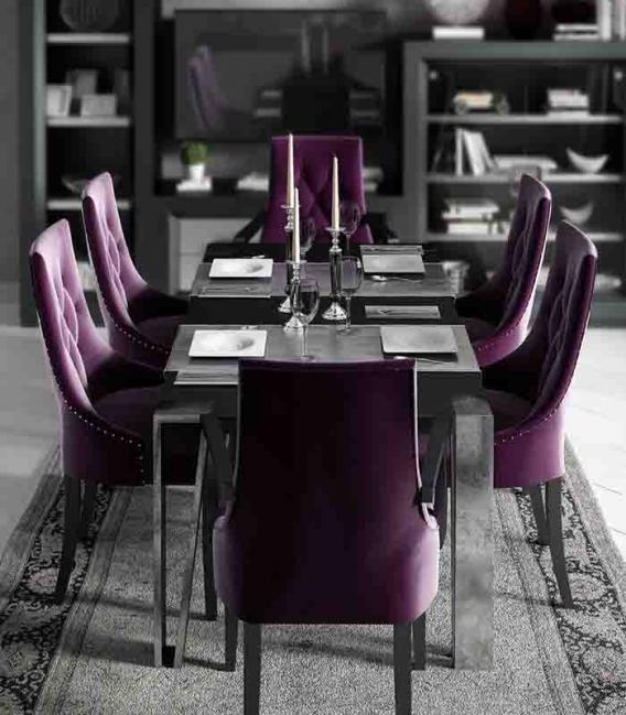 Mesa de comedor pata triangulo Franco Furniture