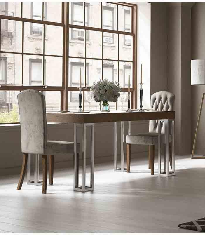 Mesa De Comedor Pata Prisma Franco Furniture