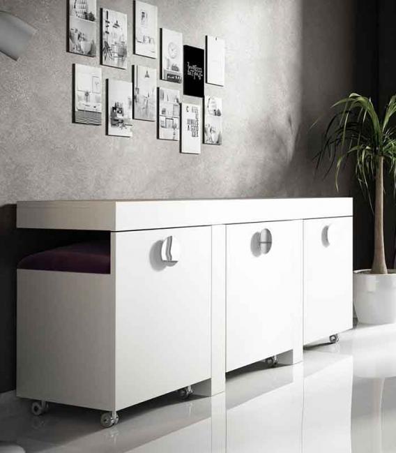Tocador con asientos Franco Furniture
