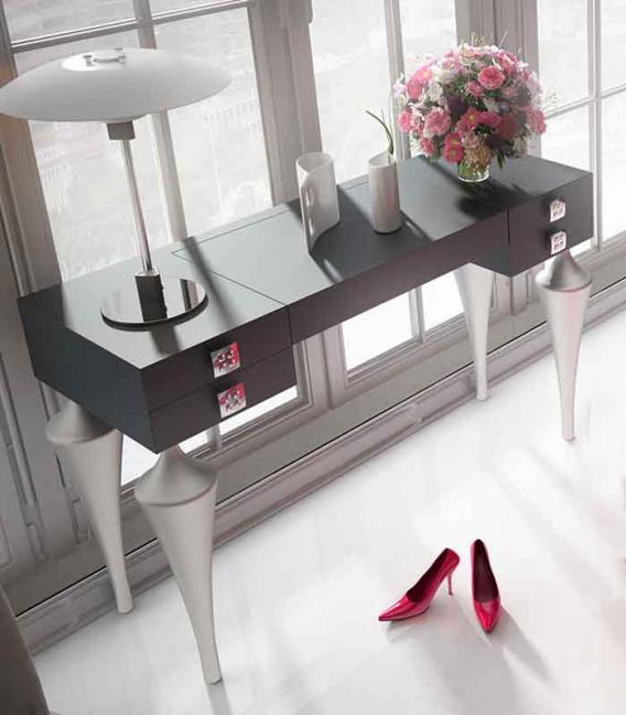 Tocador patas torneadas y tapa elevable franco furniture - Franco furniture precios ...