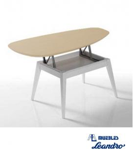 Mesa de centro elevable Zeta de MODULEY