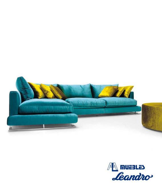 Sofá chaise longue Chanel de DIVANI