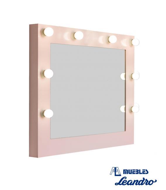 Espejo de Maquillaje lacado mini horizontal de DECORACIÓN