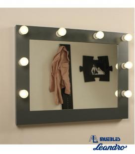 Espejo de Maquillaje lacado mini horizontal