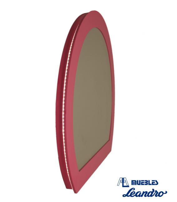 Espejo de Maquillaje vintage luz lez perimetral de DECORACIÓN