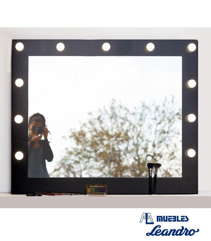 Espejo de maquillaje standar horizontal de decoraci n for Espejo horizontal
