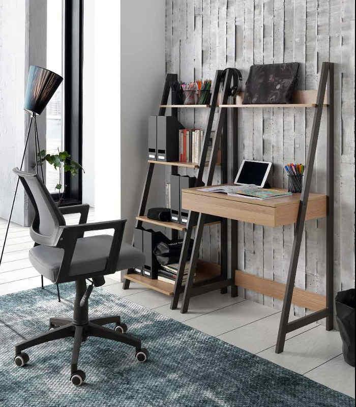 Silla de oficina modelo 75322 23 24 25 de hispanohogar for Modelos de sillas para oficina