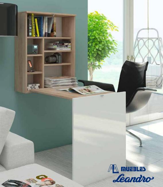 Mesa de escritorio plegable de Hispanohogar