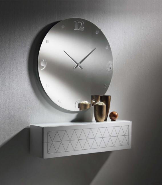 Espejo circular Arabia reloj de Dis Arte