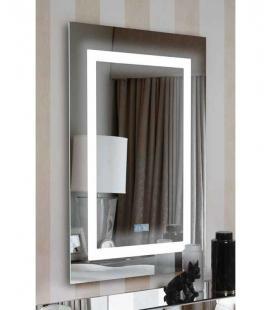Espejo multimedia rectangular