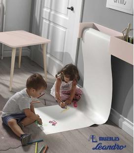 Rollo papel para dibujo infantil
