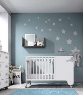 Cuna infantil modelo 03 Soft white de ROS